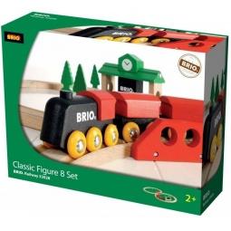 Купить Железная дорога с вокзалом Brio 33028