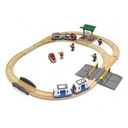 фото Набор железной дороги игрушечный Brio «Городской транспорт»