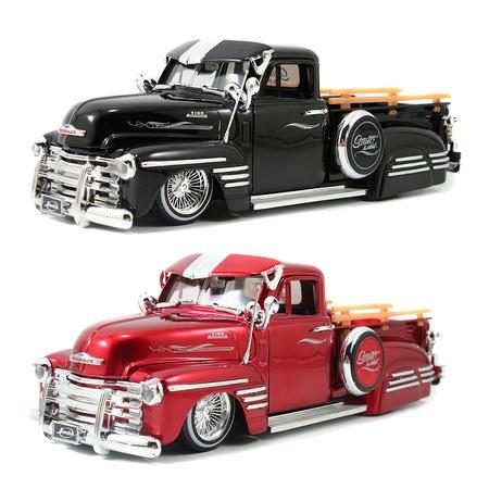 Купить Модель автомобиля Jada Toys 1951 Chevy Pick Up - Dayton Wire Wheels. В ассортименте