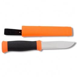 фото Нож туристический MORAKNIV Outdoor. Цвет: оранжевый