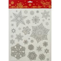 фото Пленка декоративная для окна Феникс-Презент 31487 «Снежинки 2»