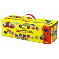 фото Набор пластилина из 24 банок Play-Doh