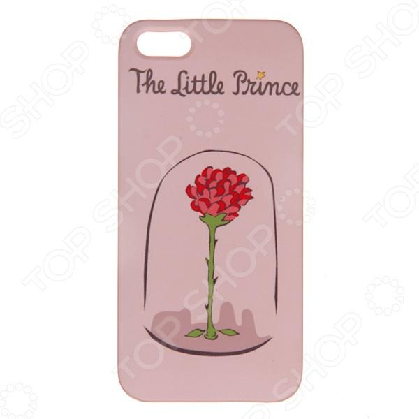 Чехол для iPhone 5 Mitya Veselkov «Роза принца»