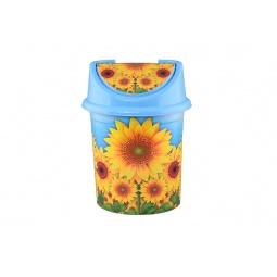 Купить Контейнер для мусора Violet 0408/84 «Подсолнух»