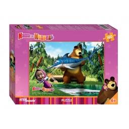 фото Пазл 160 элементов Step Puzzle Маша и Медведь