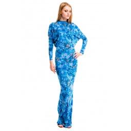 фото Платье Mondigo 7064-3. Цвет: бирюзовый. Размер одежды: 46