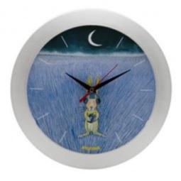 фото Часы настенные Mitya Veselkov «Заяц-меломан»