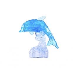 фото Пазл-конструктор 3D Ice Puzzle «Дельфин». Цвет: голубой