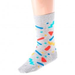 Купить Комплект детских носков Teller Supremus. Цвет: светло-серый, зеленый