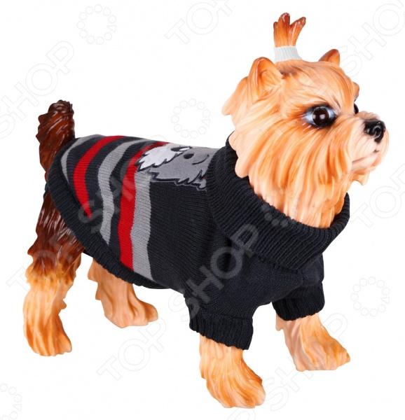 Свитер-попона для собак DEZZIE 563560 свитер для собак dezzie 561500 цвет черный