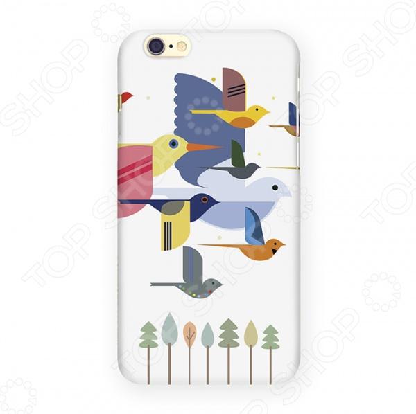 Чехол для iPhone 6 Mitya Veselkov «Птицы»