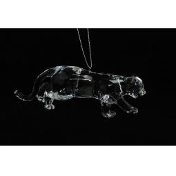 фото Елочное украшение Crystal Deco «Леопард»