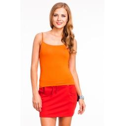 фото Майка Mondigo 551. Цвет: оранжевый. Размер одежды: 44