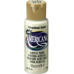 фото Краска акриловая DecoArt Премиум Americana. Цвет: белый песок