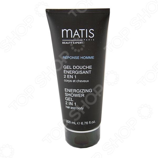 фото Гель энергетический для тела и волос Matis, Мужская косметика и гигиена