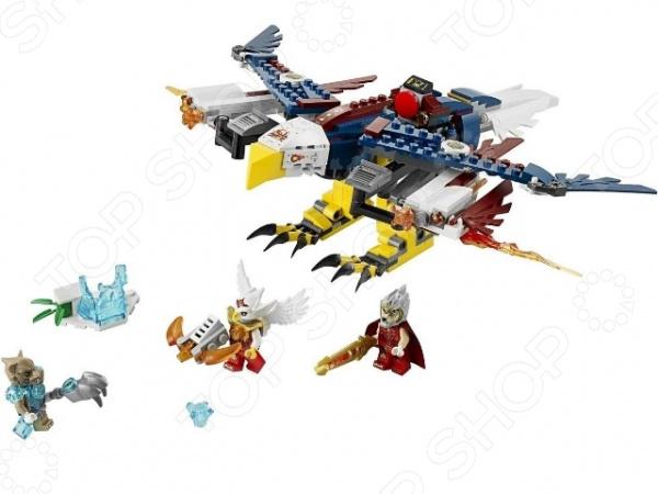 Конструктор LEGO Огненный истребитель Орлицы ЭрисКонструкторы LEGO<br>Конструктор Lego Огненный истребитель Орлицы Эрис большой подарочный комплект, состоящий из множества деталей, которые могут быть использованы для сборки удивительного истребителя. Элементы отлично различимы для ребенка и он точно поймет что с ними необходимо делать. Этот набор предлагает классические возможности по соединению и общей сборке, поэтому трудной не должно возникнуть если следовать картинке. Детский конструктор является достаточно практичным учебным пособием, так как он развивает память, мышление, логику, фантазию, а также моторику рук. Сборка конструктора подарит ребенку массу удовольствия и приятное времяпрепровождение.<br>