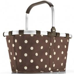 фото Корзина для покупок Reisenthel Carrybag Mocha Dots