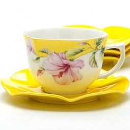 Купить Чайный сервиз Loraine «Цветы»