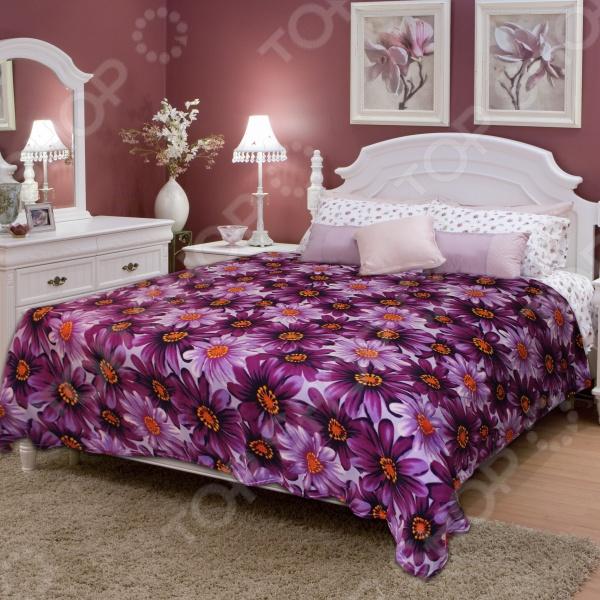 Плед Amore Mio DaisyПледы<br>Плед Amore Mio Daisy это сочетание прекрасного качества и стильного современного дизайна. Он невероятно мягкий, теплый и приятный на ощупь. Модель выполнена из 100 -го полиэстера, отлично зарекомендовавшего себя в пошиве покрывал и пледов, благодаря прочности, цветостойкости и устойчивости к истиранию. Плед украшен оригинальным цветочным принтом. Ткани и готовые изделия производятся на современном оборудовании и отвечают европейским стандартам качества.<br>