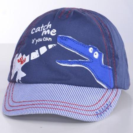 Купить Бейсболка для малыша ЧУДО-КРОХА «Крокодил» ЯВ101428. Цвет: синий