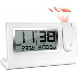 фото Проекционные часы с внешним датчиком температуры Oregon Scientific RMR391P. Цвет: белый
