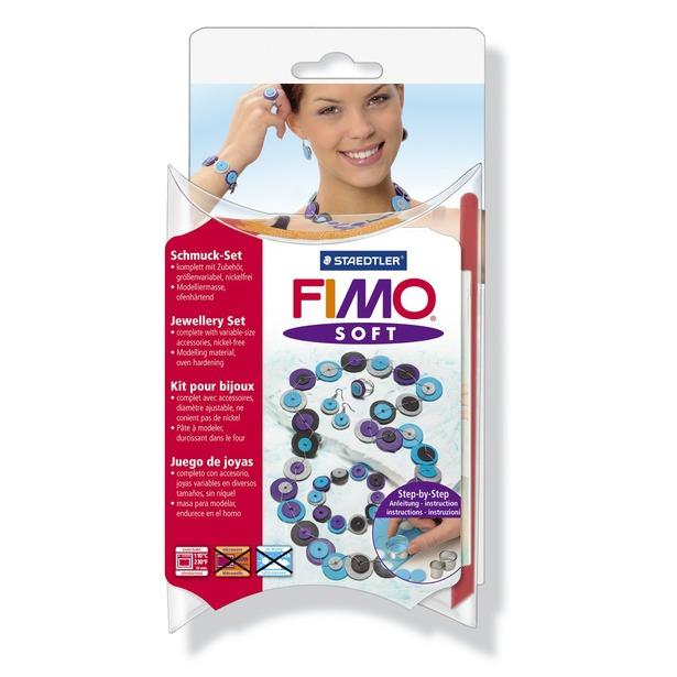 фото Набор для создания украшений Fimo Soft «Пуговицы»
