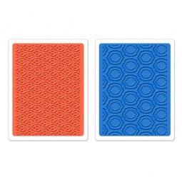 Купить Набор форм для эмбоссирования Sizzix Textured Impressions Дворец
