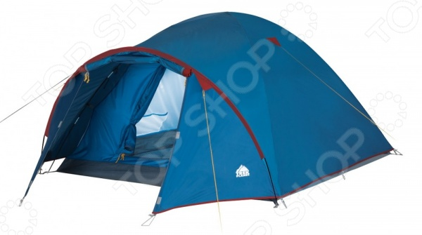 Палатка Trek Planet Vermont 3Палатки<br>Палатка Trek Planet Vermont 3 это прекрасный выбор для любителей активного отдыха, турпоходов и трекинга. Она станет отличным дополнением к набору ваших туристических принадлежностей и поможет сделать отдых максимально комфортным. Тент палатки выполнен из полиэстера с водостойкой пропиткой, а пол из армированного полиэтилена. В качестве материала для внутренней палатки используется дышащий полиэстер, что обеспечивает лучшую вентиляцию и предотвращает скапливание конденсата. Модель снабжена вентиляционным клапаном и внутренними карманами для хранения различных мелочей. Есть возможность подвески фонаря.<br>