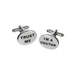 Купить Запонки Mitya Veselkov «Верь мне. Я доктор»