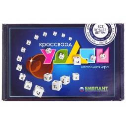 Купить Игра настольная Биплант «Кроссворд Удачи синий»