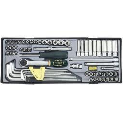Купить Набор с торцевыми головками и битами Force F-T2641