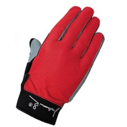 фото Велоперчатки с длинными пальцами Polednik Long. Цвет: красный. Размер: 8 S