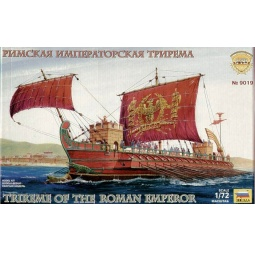 фото Сборная модель Звезда «римская императорская трирема»