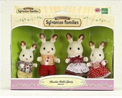 Набор игровой Sylvanian Families «Семья Шоколадных Кроликов»