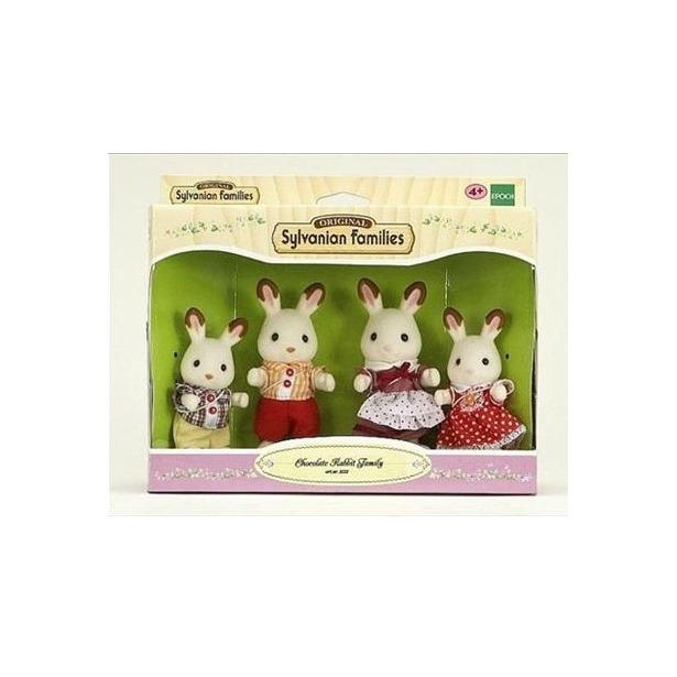 фото Набор игровой Sylvanian Families «Семья Шоколадных Кроликов»