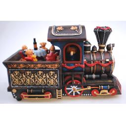 фото Музыкальная шкатулка Crystal Deco «Рождественский паровозик» 1707588