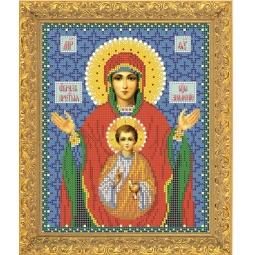 Купить Набор для вышивания бисером Светлица «Пресвятая Богородица Знамение»