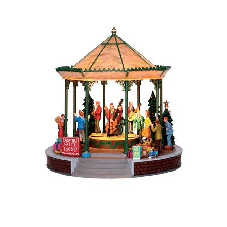 Купить Домик керамический Lemax «Рождественский концерт»