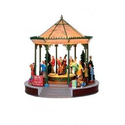 фото Домик керамический Lemax «Рождественский концерт»