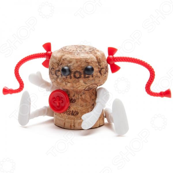 Декор для винной пробки Monkey Business Кукла