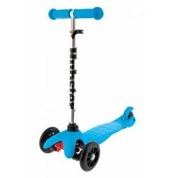 фото Самокат трехколесный Hubster для ребенка. Цвет: синий
