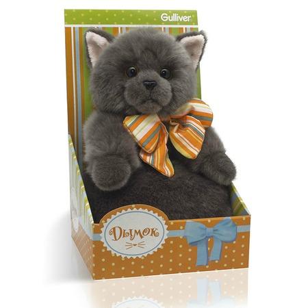 Купить Мягкая игрушка Gulliver «Котик Дымок с бантом»