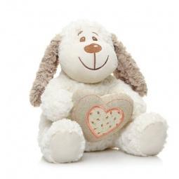 фото Мягкая игрушка Maxitoys «Собачка Краф С Сердцем»
