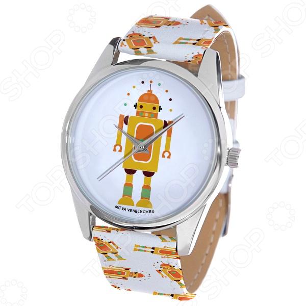 Часы наручные Mitya Veselkov «Влюбленный робот» ART