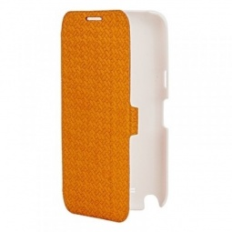 фото Чехол для Samsung Galaxy Note 2 N7100 Yoobao Fashion Case. Цвет: оранжевый