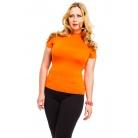 Фото Водолазка Mondigo XL 037. Цвет: оранжевый. Размер одежды: 48
