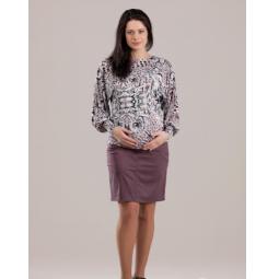 Купить Юбка для беременных Nuova Vita 6107.4. Цвет: мокко