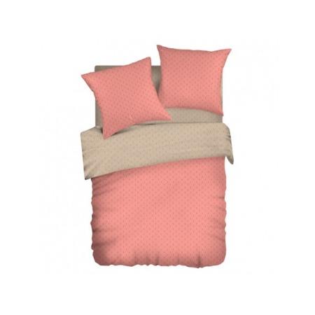 Купить Комплект постельного белья Wenge Uno «Брусничный мусс». 1,5-спальный