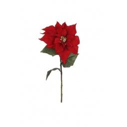 фото Новогоднее украшение Christmas House «Цветок Пуансеттия»