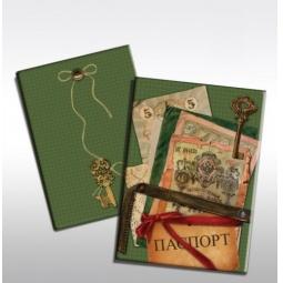 фото Обложка для паспорта Феникс-Презент «Банкноты»